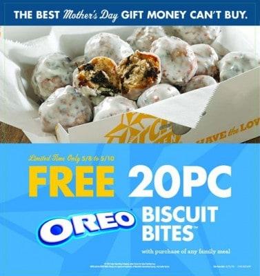 Free Oreo Biscuit Bites