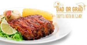 Dads and Grads restaurant promotions