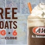 Get a Free Root Beer Float on August 6th