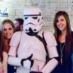 Stormtrooper with Waitstaff