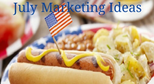 July Restaurant Marketing Ideas and Tips