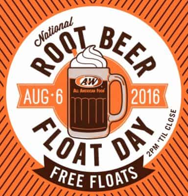 August 6 Root Beer Float Day