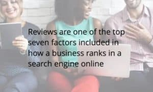 Reviews and SEO rankings
