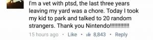 Vet with PTSD is using Pokemon Go to get out and socialize