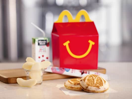McDonald's McGriddle breakfast Happy Meal for kids