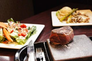 Black Rock Woodhaven grill the steak at your table