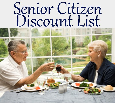 List of Senior Citizen restaurant discounts