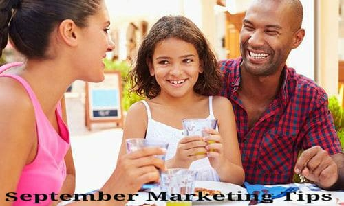 September Restaurant Marketing Ideas and Tips