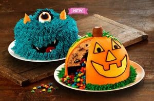 Baskin Robins new Halloween Cakes