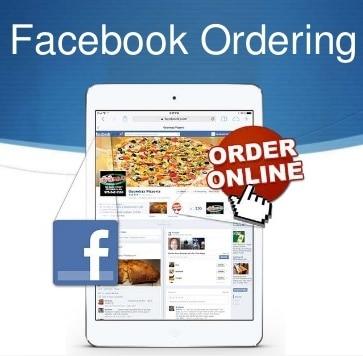 Facebook food ordering