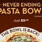 Olive Garden's Most Popular Promotion is Back