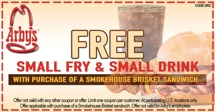 Arbys-Free-Small-Drink-And-Fries-With-Purchase-Of-Smokehouse-Brisket-Sandwich-Ends-Dec-31