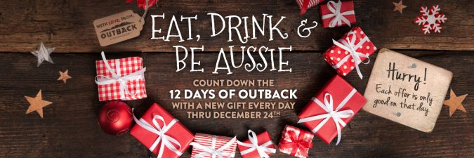 Outback Holiday coupon 2016