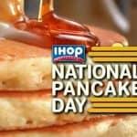 Get Free Pancakes On National Pancake Day March 7th