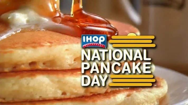 National Pancake Day March 7