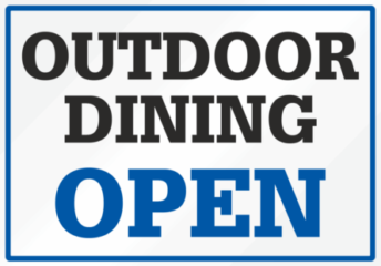 List of restaurants with outdoor seating