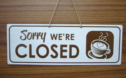 Wyandotte coffee shop closed