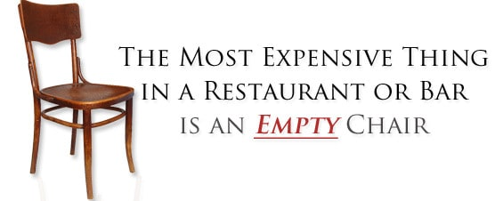 Restaurant Marketing to fill empty chairs