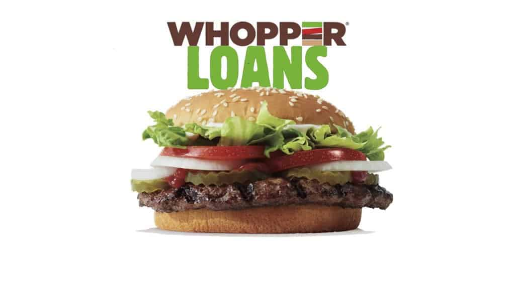Burger King Whopper Loans Student Loan Contest