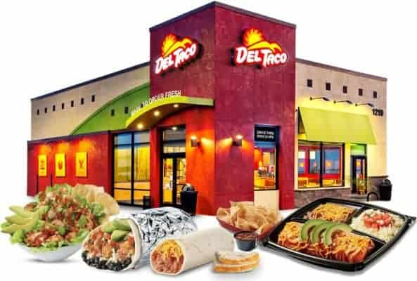Del-Taco-building-and-menu-items