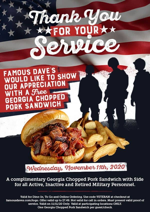 Famous-Daves-Announces-System-wide-Veterans-Day-Promotion