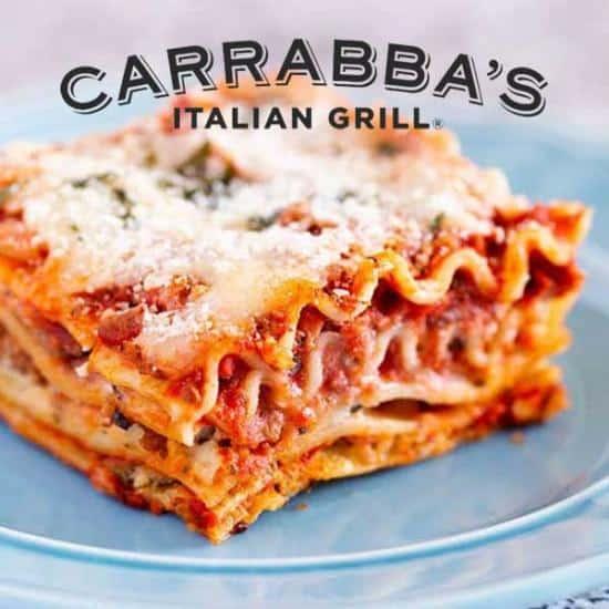 Carrabbas-Lasagne