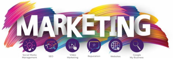 Splattered Paint Marketing services for Downriver and Detroit