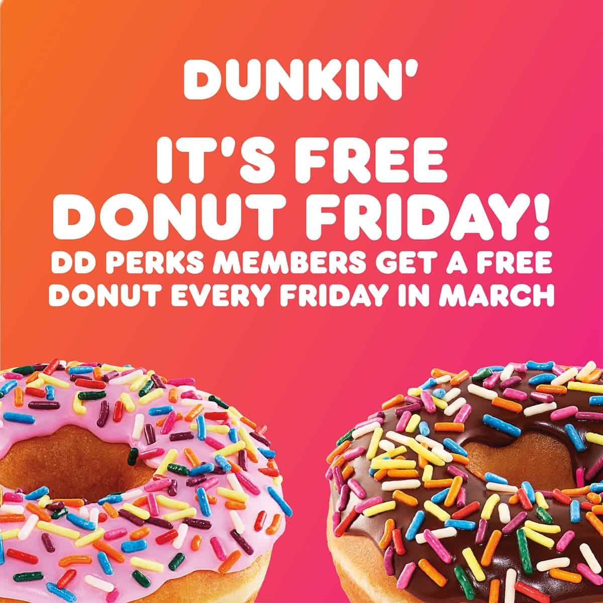 Free_Donut_Fridays_Dunkin_Donuts