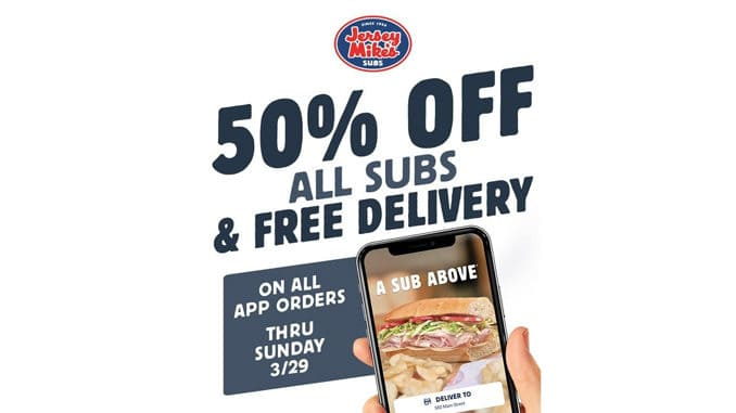 Jersey-Mike's-50-Off-All-Subs-With-Free-Delivery-Through-March-29-2020