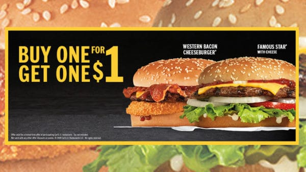 Hardee S Offers New Buy One Get One For 1 Deals Downriver Restaurants