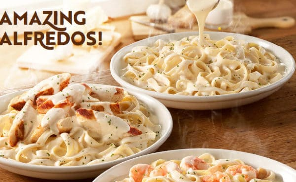 Olive Garden Launches Amazing Alfredos Promotion Downriver Restaurants