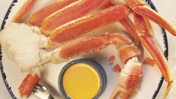 Red-Lobster-FREE Snow Crab Legs