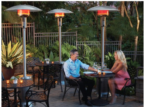 Propane Hearth Outdoor Dining Heaters